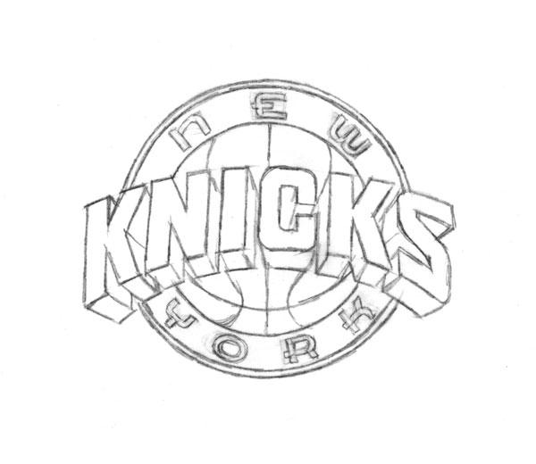 Evolution Of The New York Knicks Logo